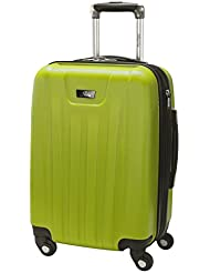 Skyway Nimbus 2.0 20-Inch 4 Wheel Expandable Carry-On, Apple Green, One Size
