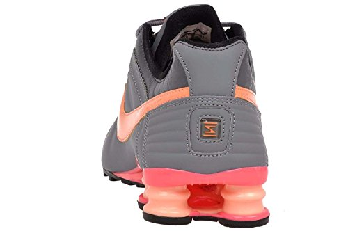 4b45b317336d NIKE shox women s junior athletic sneakers shoes 454339-052 Grey 5 B(M) US   Amazon.in  Shoes   Handbags