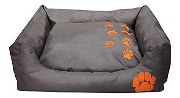 BUNNY BUSINESS - cama para mascotas rectangular de teflón, suave y calentita para perros y