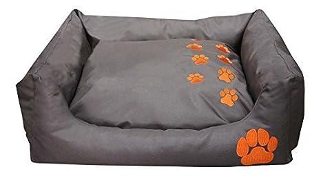 BUNNY BUSINESS - cama para mascotas rectangular de teflón, suave y calentita para perros y gatos. Cojines y camas, grande, azul: Amazon.es: Productos para ...