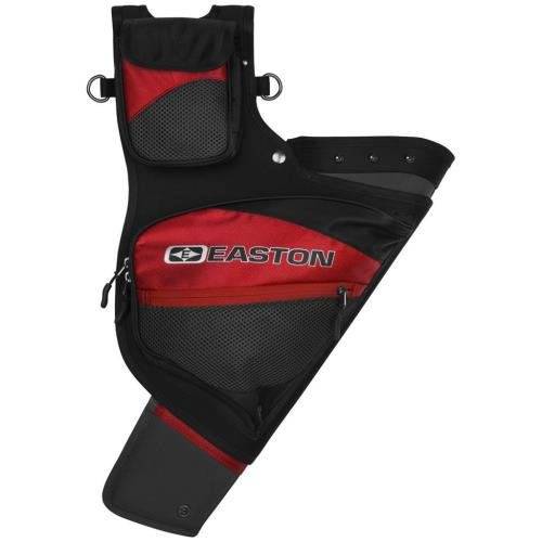- Easton Deluxe Hip Quiver, Left Hand, Red