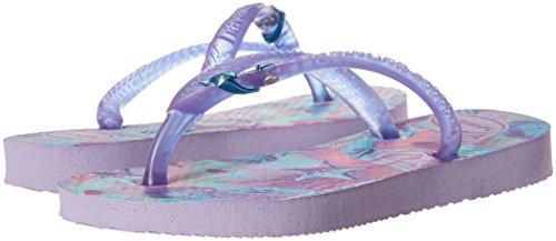 Havaianas Kids Slim Summer Sandal, Lavender 23/24 BR/Toddler (9 M US) - Image 6