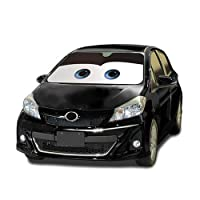 Disney Pixar Cars Lightning Mcqueen Front Car Windshield Sun Shade : Black