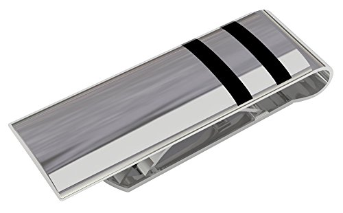 Stainless Steel Money Clip - Deluxury Fine Accessories a Great Men's (Spring Loaded Money Clips)
