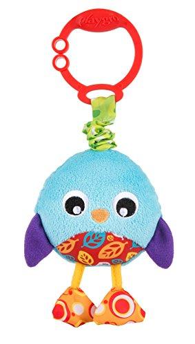 Playgro 0186973 Wiggling Poppy Penguin STEM Toy, Multi