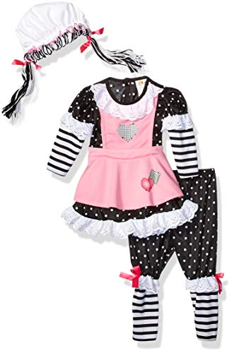 Bella Twins Halloween Costume (California Costumes Women's Baby Doll Infant, Black/Pink/White,)