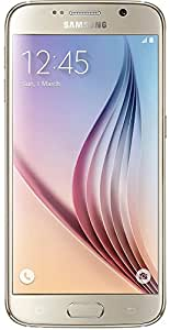 Samsung Galaxy S6 G920A 64GB Unlocked GSM 4G LTE Octa-Core Android Smartphone w/16MP Camera - Gold (Certified Refurbished)