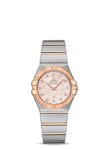 Omega Women's 'Constellation' Swiss Quartz Stainless Steel Dress Watch, Color Two Tone (Model: (Omega Quartz Bracelet)