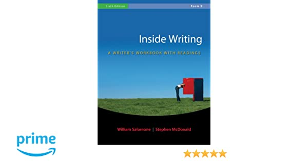 Amazon.com: Inside Writing: A Writer's Workbook with Readings ...