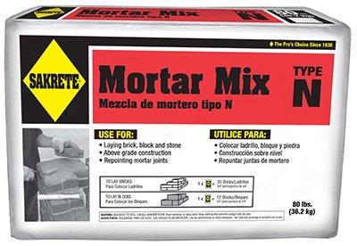 SAKRETE of North America 65304270 Sakrete Mortar Mix, 80 lb by Sakrete