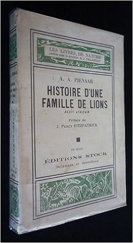 Livre gratuits Histoire d'une famille de lions pdf, epub
