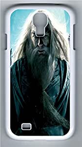 Harry Potter Dumbledore PC Case Cover for Samsung Galaxy S4 I9500 White by runtopwellby Maris's Diary