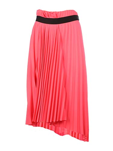 Balenciaga Luxury Fashion Woman 529757TEO055900 Fuchsia Polyester Skirt | Fall Winter 19