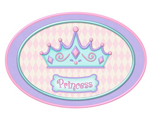 Borders Unlimited Princess Camryn Bath Mat, Multi by Borders Unlimited