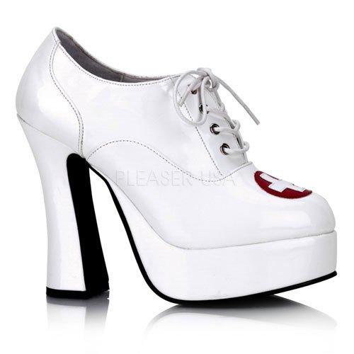 Demonia Women's Dolly 93 White Fashion Pumps 6 M (Demonia Womens Dolly)