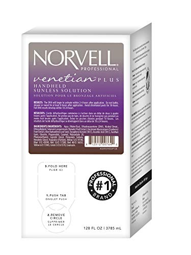 Norvell Premium Sunless Tanning Solution - Venetian Plus, Gallon/128 ()