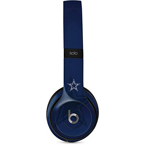 Price comparison product image NFL Dallas Cowboys Beats Solo 2 Wired Skin - Dallas Cowboys Double Vision Vinyl Decal Skin For Your Beats Solo 2 Wired