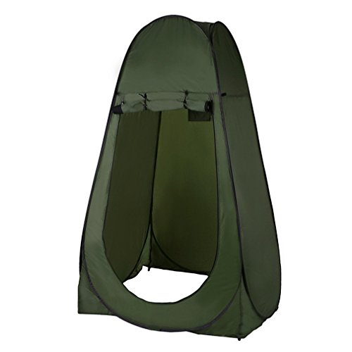 GiODLCE Shower Tent Beach Fishing Shower Outdoor Camping Toilet Tent,Changing Room Shower Tent with Carrying Bag