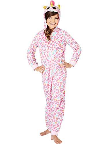 TY Beanie Boo Fantasia Unicorn One Piece Costume Pajama, Pink, 6/6X