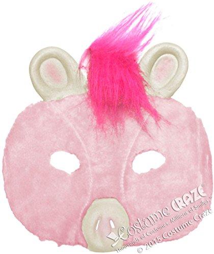 Adult Plush Pig Mask - Adult Std.
