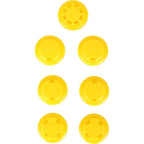 Training Mask Elevation Training Mask 2.0 Yellow Resistance Valves by TRAININGMASK