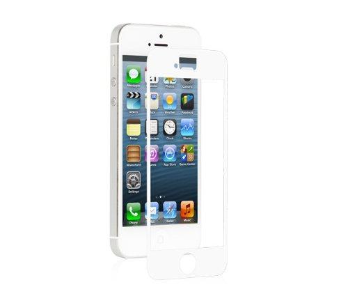sale retailer a016c 8fe5f Moshi iVisor AG Screen Protector for iPhone SE/5s/5c/5 (Anti-Glare)- White