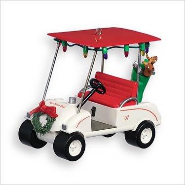 tee time taxi golf cart hallmark keepsake christmas tree ornament 2007 qx2087