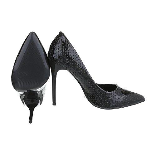 Plataforma Mujer Schwarz 72 Design Ital 5015 Y5qw6Tg