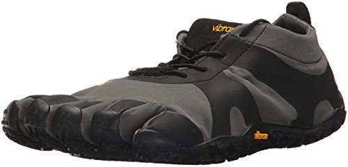 Vibram Men's V-Alpha Grey/Black Hiking Shoe, 44 EU/10.5-11 M US D EU (44 EU/10.5-11 US US)