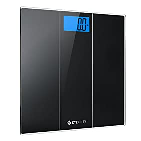Etekcity Digital Body Weight Scale with Body Measuring Tape, 400 Pounds
