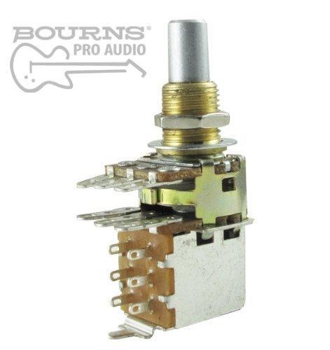 Amazon.com: Bourns Dual Mini Guitar Potentiometer w/ Push Pull ...