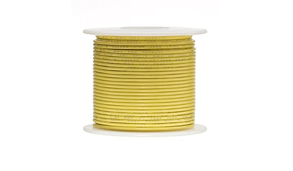 """18 AWG Gauge Stranded Hook Up Wire Red 25 ft 0.0403/"""" UL1015 600 Volts"""