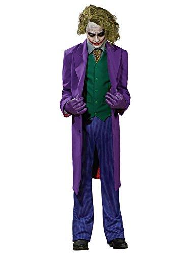 [Men's The Joker Grand Heritage Costume MEDIUM] (Childrens Joker Costume)
