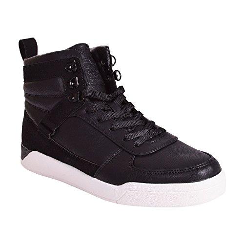 CrossHatch - Zapatillas de Material Sintético para hombre, color negro, talla 46