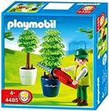 Playmobil - 448 months5 - Les commerçants - Jardinier / Taille-haie