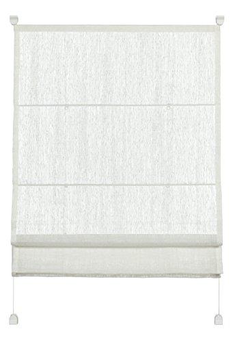 Gardinia 33922 Easyfix Raffrollo transparent 70 x 140 cm, weiß