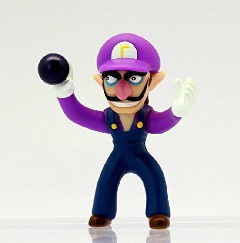 Super Mario Bros Wario Waluigi 10 Cm PVC Action Figure Toys