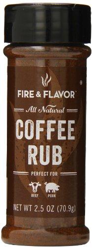 Fire & Flavor Coffee Rub, 2.5 oz (Faucet Rub)