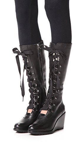 M 8 Hours B Tall Black 5 Boots Sorel After Wedge US Women's qU6CxC