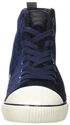 Sneaker Donna Velvet Debby Calvin Klein Blue Blu wq4TcPxH