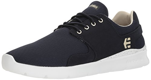 Etnies Men Scout Xt Low-Top Sneakers, Grey Black, 9 UK Blue (488-dark Navy 488)