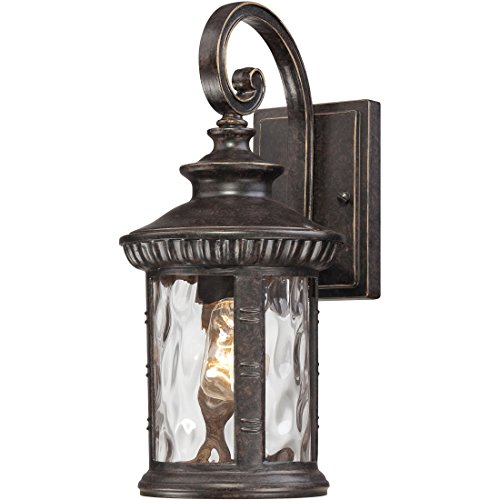 - Quoizel CHI8407IB Chimera Outdoor Lantern Wall Sconce, 1-Light, 100 Watts, Imperial Bronze (16