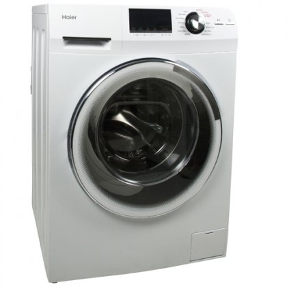 Haier 24″ 2.0 Cubic Foot Front-Load Washer/Dryer Combo HLC1700AXW