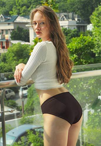 0c02341942 Wealurre Women s Hipster Panties Seamless Underwear Low Rise Bikini Panty  Multipack