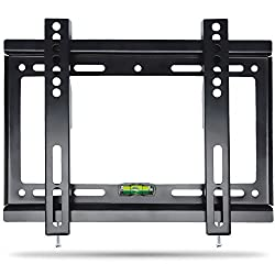 LCD LED Plasma Flat Screen TVs Wall Mount Tilting Bracket, Costech TV Wall Mount for 14-42 Inches Flat Screen TVs with Load Capacity Up to 55 LBS and VESA from 75x75mm to 200x200mm