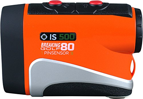 Breaking 80 IS500 Golf Rangefinder (Orange)