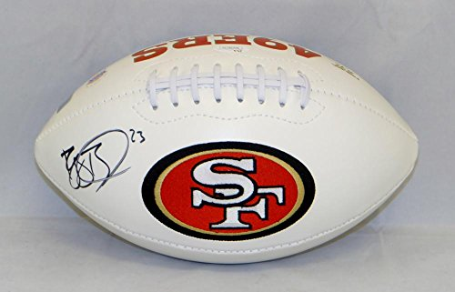 (Reggie Bush Autographed San Francisco 49ers Logo Football- JSA W Authenticated)
