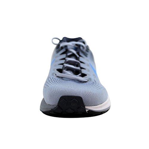 Nike Mænds Luft Zoom Struktur 21 Løbesko Gletscher Grå / Foto Blå-thunder Blå 5RFUKspRPi