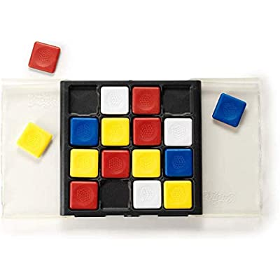 Rubik's Flip | Fast Moving Strategy Tile Board Game for 2 Players: Toys & Games