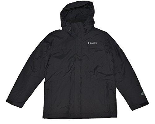 Columbia Men's Arctic Trip II Interchange Jacket-Black-Medium